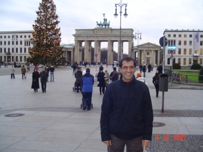 Here I am when I was at Berlin
