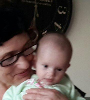 I love my little  granddaughter.