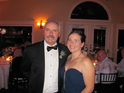 my daughter and I at sons' wedding 09/12