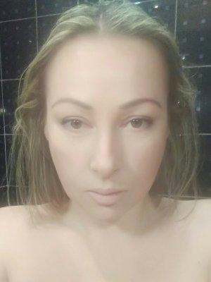 after shower,