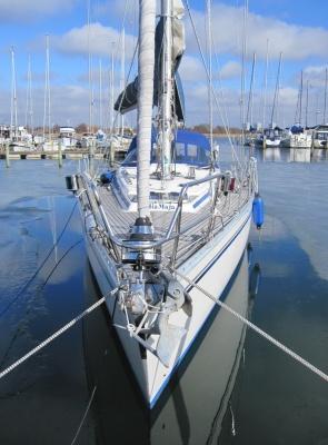 My sailboat.