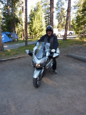 National Park tour on my motorcyle in .