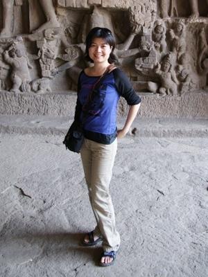 Feb  @ Ellora, India