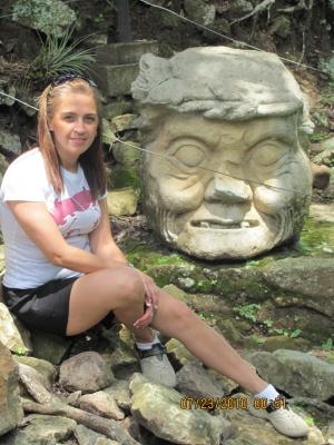 Mayan Ruins in Copan, Honduras on July .