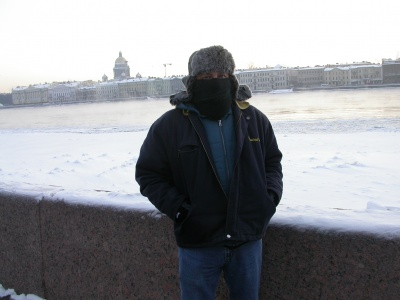 Me @ St.Peeterburg Russia  01/01/