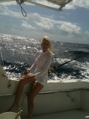I love being on the water