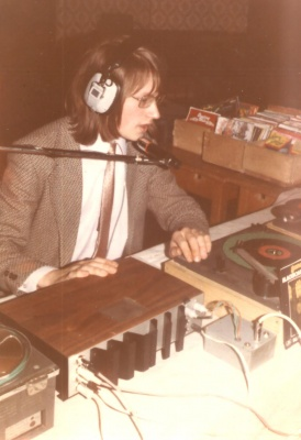Me as DJ in younger years :-)  ()