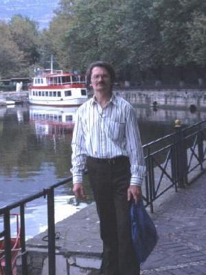 On holiday in Ioannina, Greece