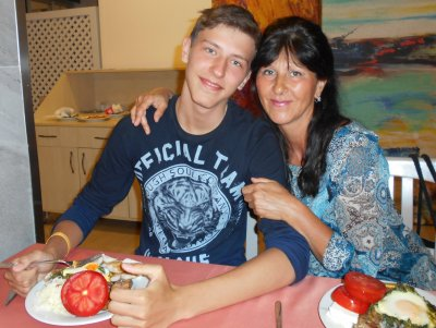 , Turkey(with my son)