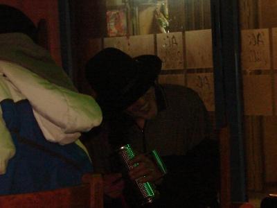 Playing merengue güiro