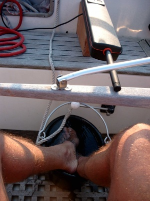 Sailing on a hot Day