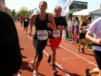 Beauty and the Beast at ½ Marathon