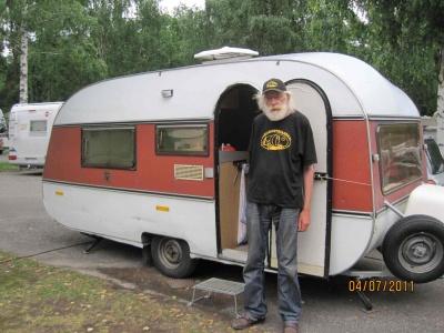 After caravan meeting in Sweden gone around Baltic Sea in