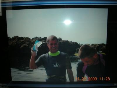 se synem potápění Primorsko