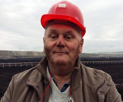 visit to coal mine PL