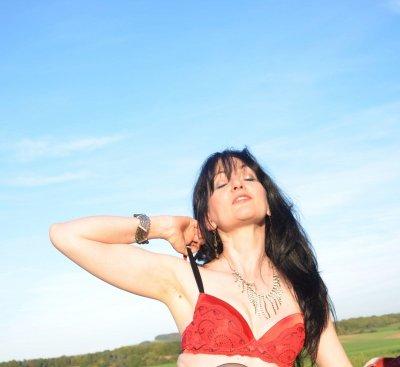 Me in the sun.