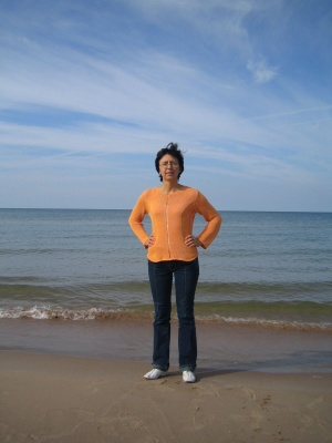 Both Baltic - the sea and the woman..