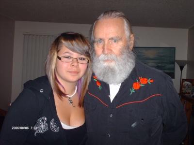 Grand daughter and Me.  November .