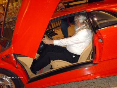 Ferrari Diablo in the Chapel Hills Mall in Colorado.